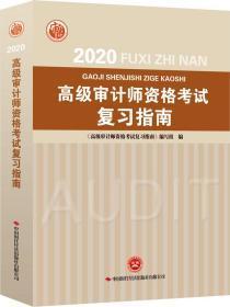 2020高级审计师资格考试复习指南