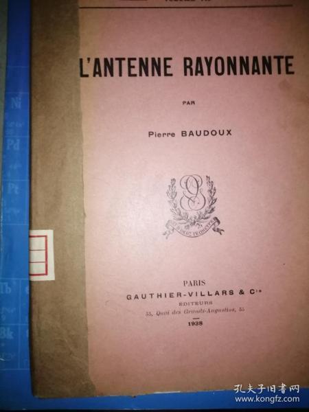 L'ANTENNE  RAYONNANTE