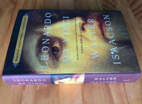 英文原版 达芬奇传记 Leonardo da Vinci  600页精装超厚
