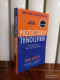 Predictably Irrational:The Hidden Forces That Shape Our Decisions,怪诞行为学,英文版,包邮