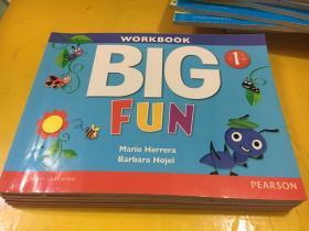 workbook big fun 1有盘 有涂画