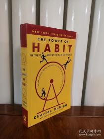 习惯的力量,英文版,The Power of Habit: Why We Do What We Do in Life and Business,包邮