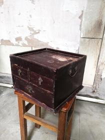 清代老木箱