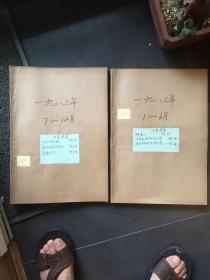 人民画报 1983年 1-12期 合订本