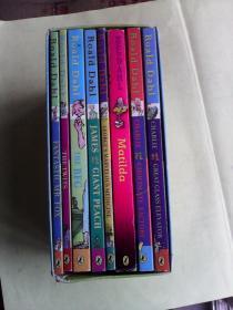 The Roald Dahl Collection 8 Book Set       罗尔德·达尔作品8册套装    英文原版插图本