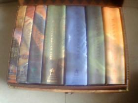 Harry Potter 哈利波特英文原版全七册(有原仿皮箱)