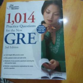 1,014 Practice Questions for the New GRE, 2nd Edition