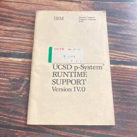 IBM ucsd p-system ucsd p系统运行支持