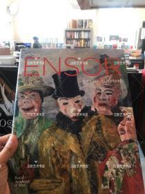 James Ensor by Luc Tuymans 恩索尔 作品集 精装16开 178页 2016 年比利时皇家美术学院出版