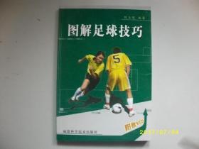 图解足球技巧/倪玉明/2005年/九品无光盘A356