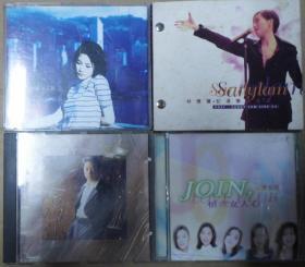 黎明 林忆莲 王菲 女人心  旧版 港版 原版 绝版 CD