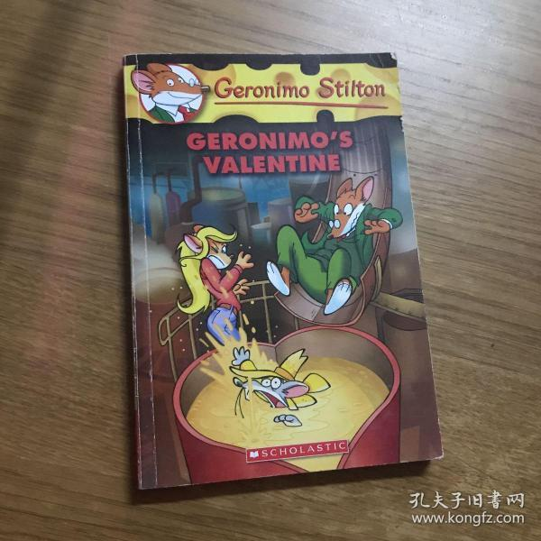 Geronimo Stilton #36: Geronimo's Valentine  老鼠记者36:吉奥尼莫的情人节