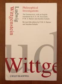 Philosophical Investigations ( 4th Edition ) 德英对照本(进口原版,国内现货)