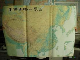 中国山峰一览图