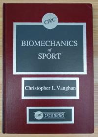英文原版书 Biomechanics of Sport 1st Edition by Christopher L. Vaughan (Author)