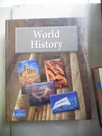World History【16开精装 英文原版】Pearson / AGS Globe  (世界历史:培生教育版)