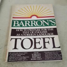 BARRON'S TOEFL