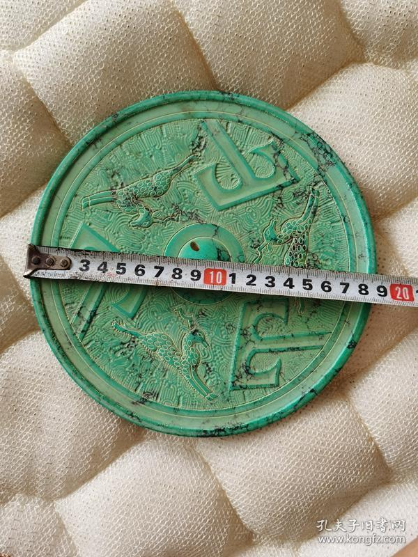 古董古玩杂项绿松石摆件