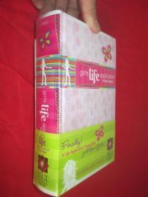 Girls Life Application Study Bible NLT  (大32开,精装,未开封)
