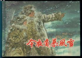 《今夜有暴风雪》,上美大精,崭新雪白品相完美,全网唯一,冯远绘画,上美2009年3月一版一印