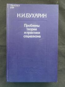 社会主义理论和实践问题 ,布哈林著,少见的俄文原版