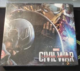 Marvel's Captain America: Civil War:The Art of the Movie 美国队长3设定集 英文原版