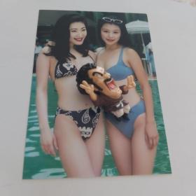 杨思敏徐若瑄稀有绝版泳装五寸照片