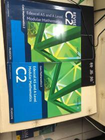 Edexcel AS and A Level Modular Mathematics Core Mathematics 2 C2 +REVISE C2  两本合售  加练习册  含光盘一张