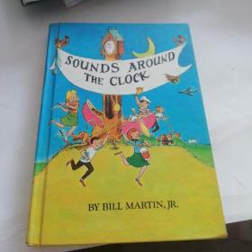 SOUNDS AROUND THE CLOCK(精装英文彩图原版)