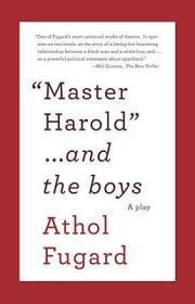 预售 英文预定 MASTER HAROLD AND THE BOYS A Play