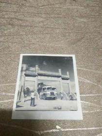 民国老照片:国立武汉大学(湖北武汉大学的前身,在1928-1949年之间称作国立武汉大学)校门