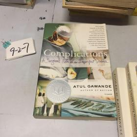Complications:A Surgeons Notes on an Imperfect Science