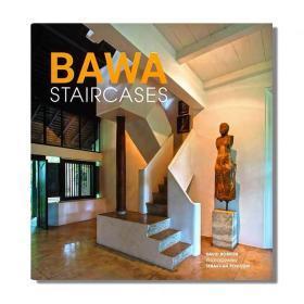 现货 Bawa Staircases 巴瓦式楼梯 斯里兰卡杰出建筑大师杰弗里·巴瓦作品收录 住宅、酒店等建筑景观设计 英文原版
