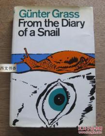 【包邮】1975年出版,格拉斯作品《蜗牛日记》精装32开带书衣