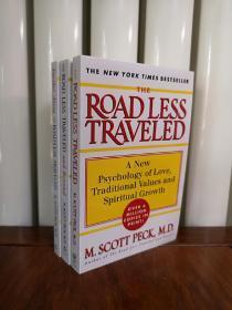 少有人走的路,英文版,三本,包邮 Further Along the Road Less Traveled:The Unending Journey Towards Spiritual Growth