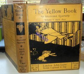1894-97年英国 The Yellow Book《黄面志》 13册中任选一册