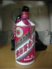 五星茅台酒瓶