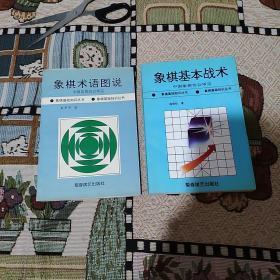 象棋基本战术  象棋术语图说  两册合售