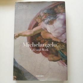 Michelangelo Life and Work 米开朗基罗画册