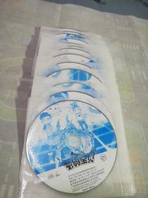 日本经典卡通 VCD 数码宝贝 1-25《共25碟装》[正版裸盘]