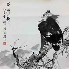 【保真销售,接受订制】甘雨辰 68x68cm