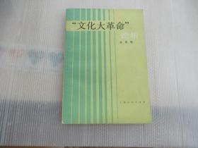 """""""文化大革命""""论析"""