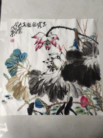 王培东斗方花鸟