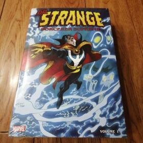marvel Dr. strange sorcerer supreme omnibus 1 英文原版精装塑封