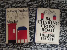 《84,CHARING CROSS ROAD》查令十字街84号1970年英文初版五刷+1978年俱乐部版毛边本   非常珍贵稀少