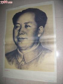 毛主席像素描