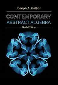 Contemporary Abstract Algebra  英文原版 当代抽象代数
