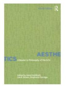 Aesthetics: A Reader in Philosophy of th
