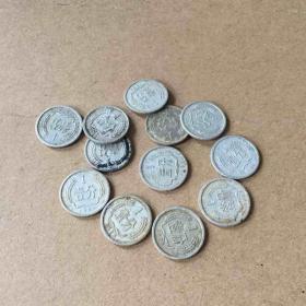 1分 12个 硬币