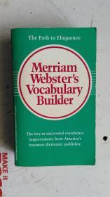 英文原版   Merriam-Websters Vocabulary Builder   韦氏词典